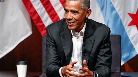 seit wann ist barack obama präsident erster auftritt seit amtsende so l 228 ssig meldet sich