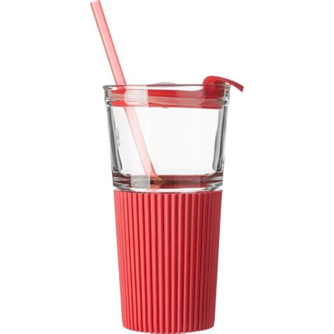 500ml glasses with straws personalised glasses