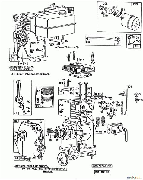briggs and stratton 6 hp carburetor diagram 5 hp briggs engine parts diagram briggs and stratton