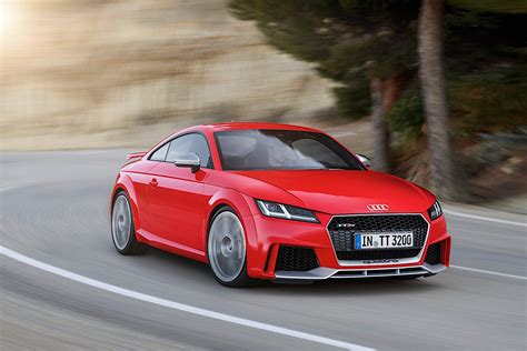 Ttrs Audi by 2017 Audi Tt Rs Roadster And Coupe Bow In Beijing With 400