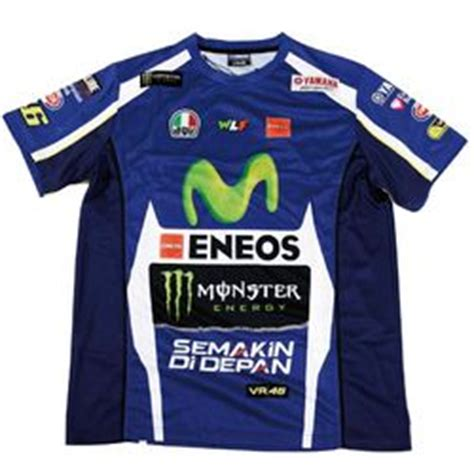 T Sirt Movistar Yamaha Vr46 Motogp t shirt yamaha replica valentino de la collection