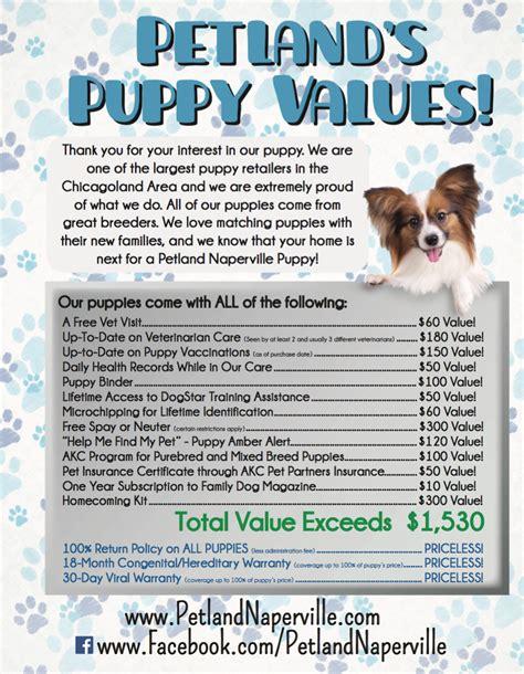 petland naperville puppies petland naperville petland pets make better puppy package value petland