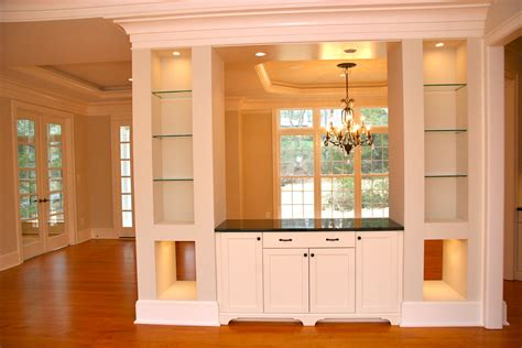 Built In Dining Room Cabinets by Builtin Cabinets For A New Home