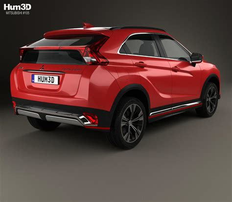 mitsubishi models mitsubishi eclipse cross 2017 3d model hum3d