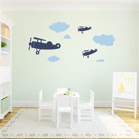 airplane wall stickers uk as well as airplane wall decals
