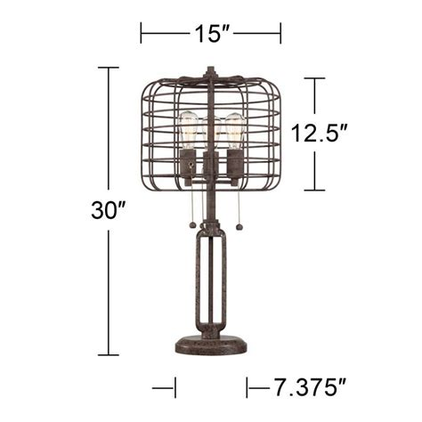 edison style cage table rustic ls edison ls a guide to the best of 2017