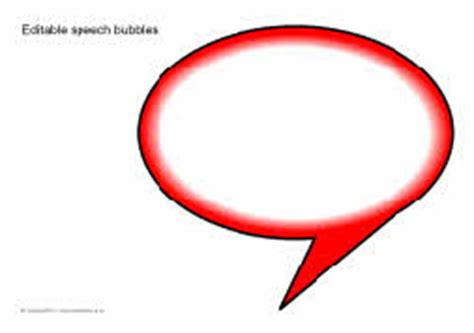 Editable Speech Template editable speech bubbles sb5224 sparklebox