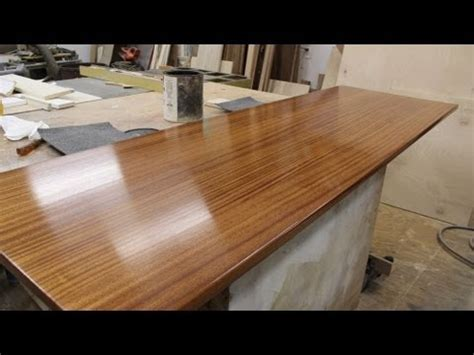Wood Countertop Finish by Finishing A Wooden Countertop Jon Peters Home