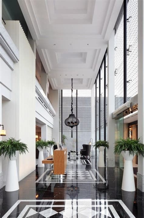 Hotel Lobby Design Erha Clinic Surabaya Hmp Architects Lobbies Surabaya And Hotel Lobby