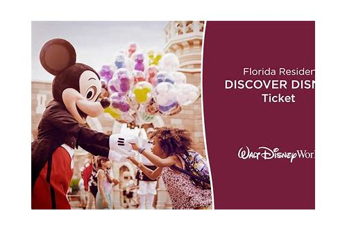 deals on disney tickets florida