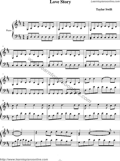 taylor swift last december chords easy taylor swift piano sheet music for beginners