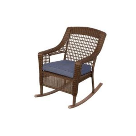 Home Depot Wicker Chairs by Hton Bay Brown All Weather Wicker Patio