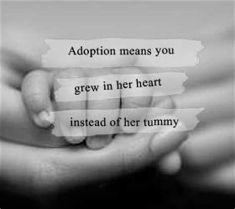 cute adoption quotes quotesgram