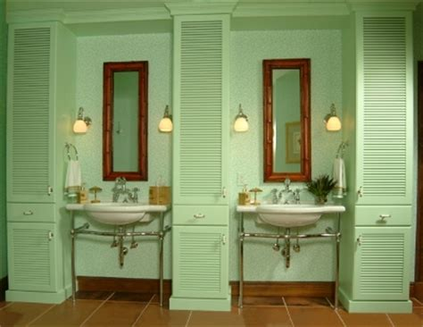 cabana bathroom spring is in the air with pastels