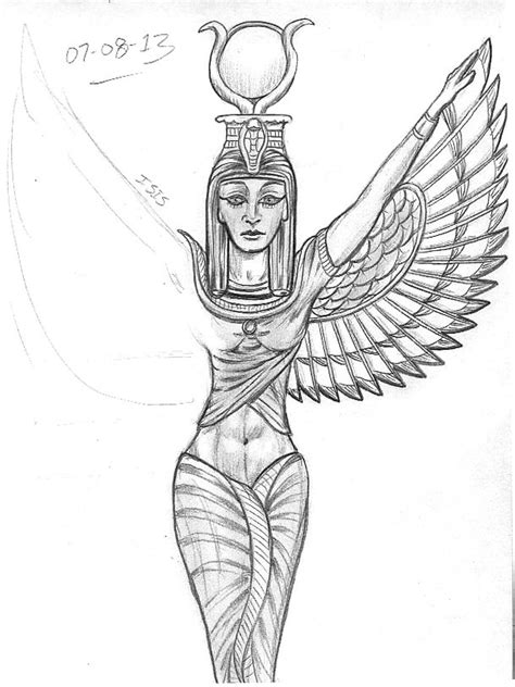queen isis tattoo goddess isis tattoo tattoos pinterest goddess isis