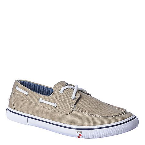 boathouse shoes nautica boathouse men s taupe casual lace up boat shoes