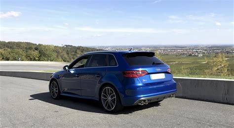 Audi S3 Forum by Julien Audi S3 Sportback 8v Bleu Sepang Garages Des