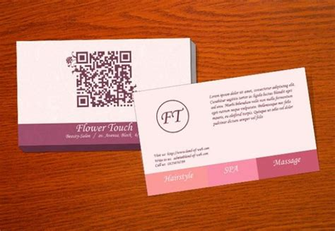 spa business card psd template salon business card template psd welovesolo