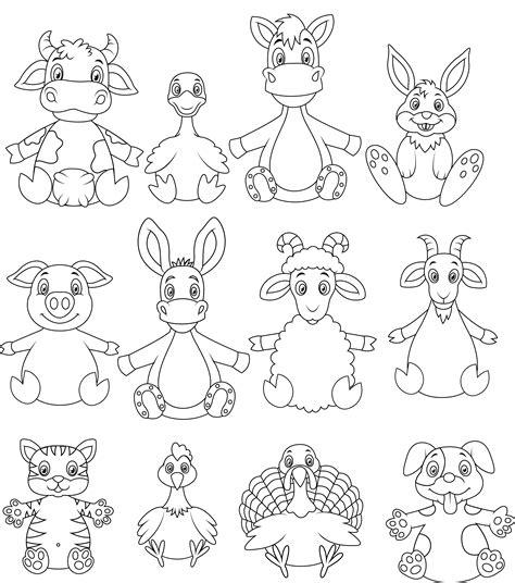 imagenes de animales y plantas para colorear dibujos de animales para imprimir y colorear