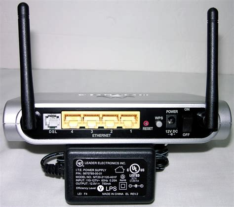 Modem Wifi Router Combo As New Motorola 2247 Wireless Dsl Modem Router Combo