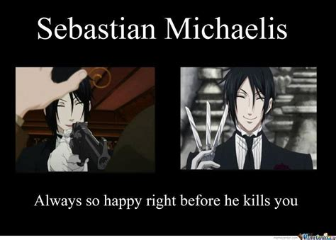 Sebastian Meme - sebastian michaelis from black butler by umadbrotroller