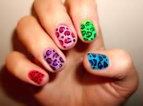 colorful nail leopard colorful nails pictures photos and images for