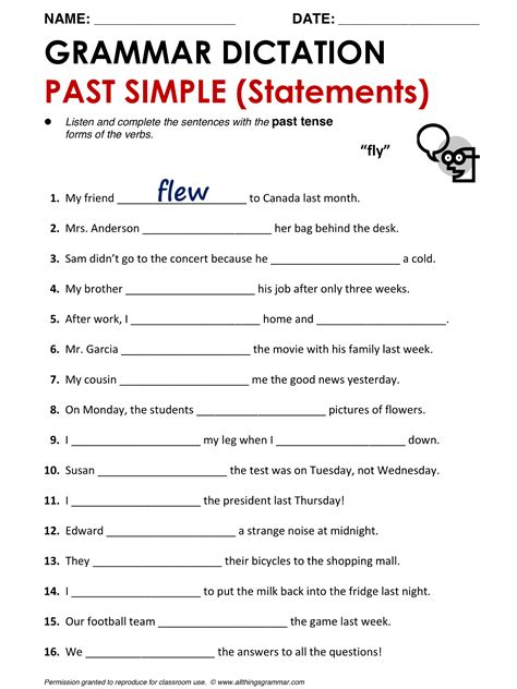 Simple And Easy Basic Grammar Diskon worksheet changing adjectives to adverbs worksheet exle