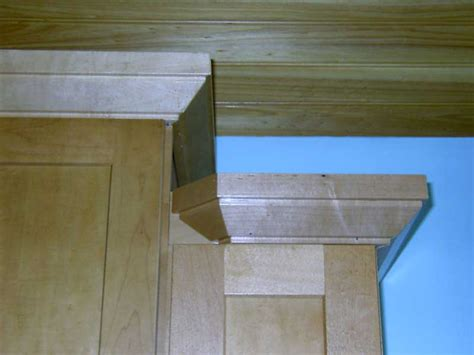 Cabinet Crown Moulding by Crown Moulding For Uneven Height Cabinets