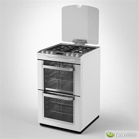 Oven Gas Electrolux electrolux gas cooker oven 3d model max obj fbx cgtrader