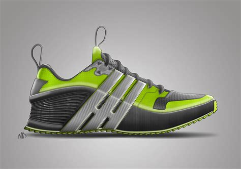 athletic shoe design footwear sketches on behance