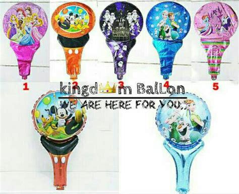 Balon Pentung Balon Tongkat Doraemon Balon Souvenir Ultah Doraemon jual balon pentung my pony balon souvenir ultah