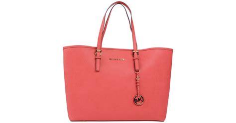 Michael Kors Coral Tote by Michael Michael Kors Handbag In Pink Coral Lyst