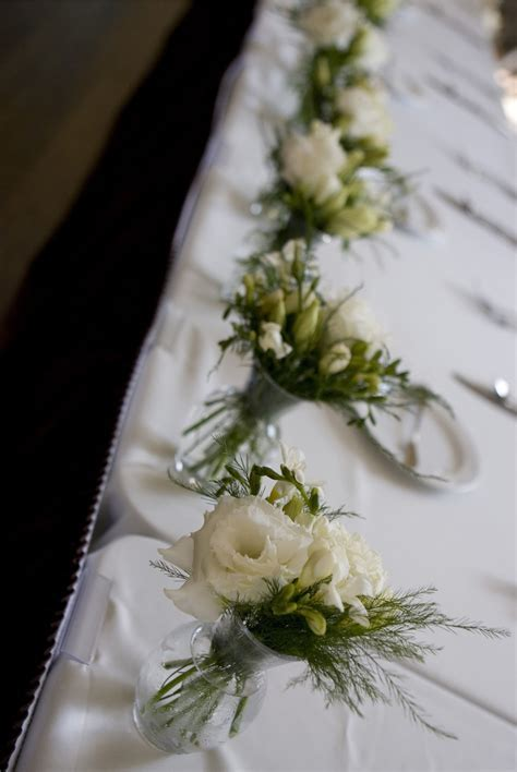 Head and Sweetheart Table Arrangements