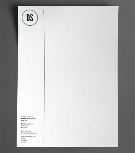 cool letterhead templates 25 best ideas about letterhead printing on