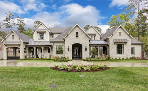 french country home 4 5 million newly built french country home in houston