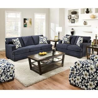 simmons gulfport navy sofa simmons upholstery navy and white floral chicklet casual