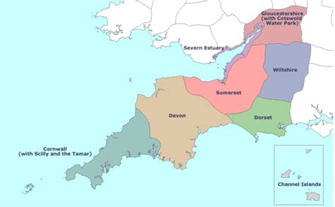 map of south west south west u3a region home