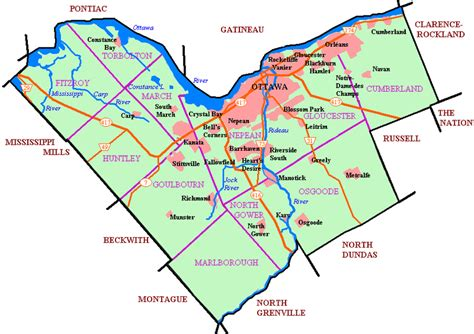 map of canada ottawa ottawa capital city of canada high