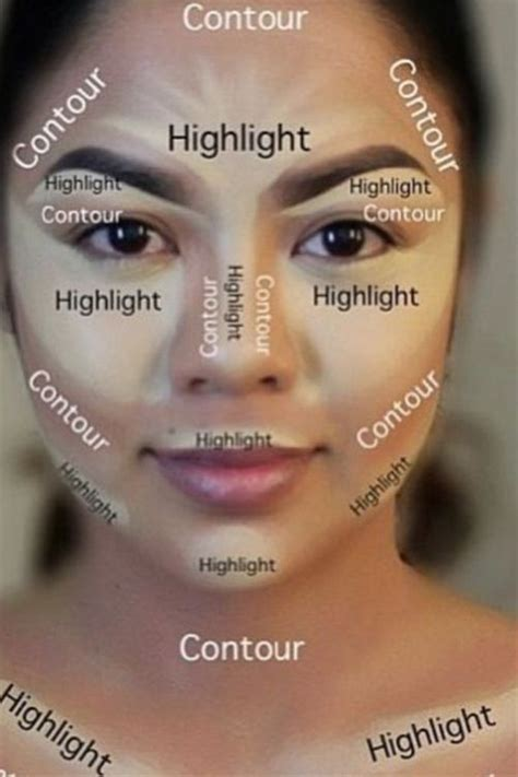 tutorial makeup contouring contouring tutorial quot my face is but a canvas quot pinterest