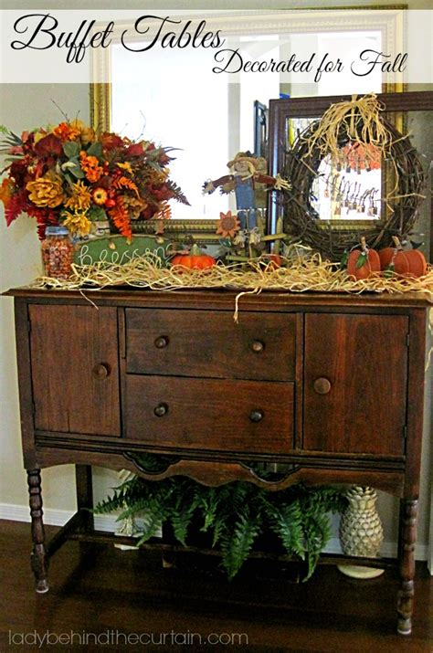 fall buffet table decorations buffet tables decorated for fall