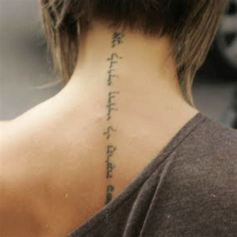 44 best images about spine tattoos on pinterest victoria beckham spine tattoo tattoos pinterest