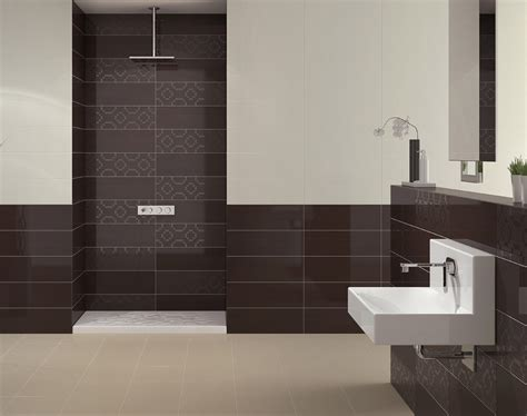tile on bathroom walls pamesa mood perla wall tile 600x200mm pamesa mood