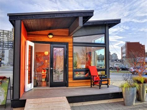 sq ft studio modern prefab cabin