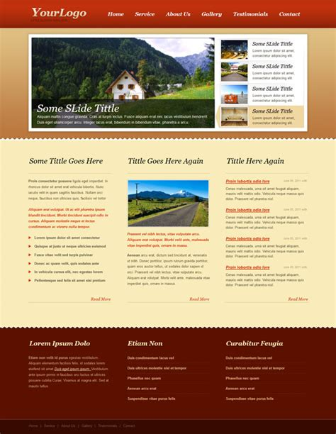 ccs template free css template with jquery slider carousel free css