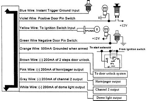 karr auto alarm wire diagram 28 wiring diagram images