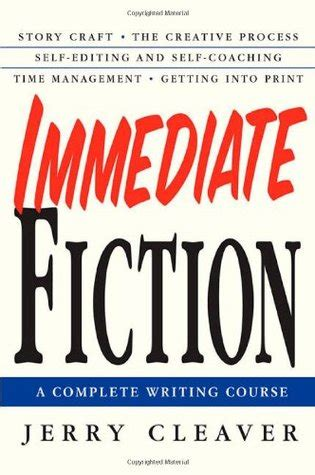 what does an immediate review of a textbook section involve immediate fiction a complete writing course by jerry