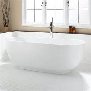Freestanding Tub 71 Quot Hazel Acrylic Freestanding Tub Bathtubs Bathroom