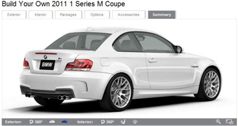 bmw configurator canada bmw 1m coupe for sale canada