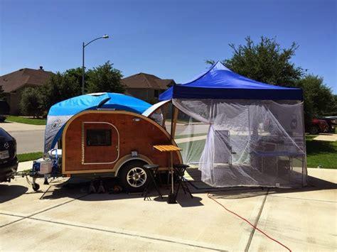teardrop driveway setup dry run teardrop trailers