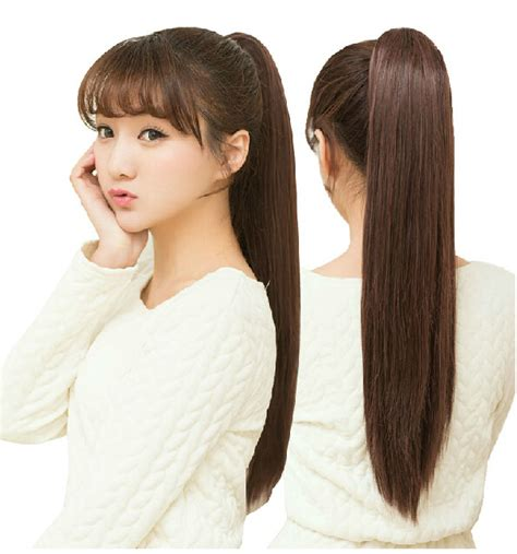 Wig Hairclip Ponytail Poni synthetic ponytail lovely hair wig wigs on luulla